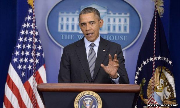 Президент Обама о ситуации вокруг Крыма